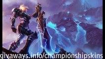 Shadowfire Kindred Free Skin Code + Champion ( Bundle