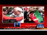 MQM Workers Attacked PTI Workers At Jinnah Ground- Samaa News Host Neelum Aslam Exposed MQM