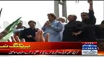 19 April Ko Jinnah Ground Jalse Ke Liye Chota Par Jaega- Imran Khan Speech In Karimabad - 9th April 2015