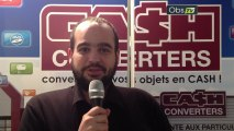 Interview de Frédéric Méry, de la franchise Cash Converters, sur le salon Top Franchise Méditerranée 2013