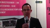 Jean-Philippe Blasco, du réseau Vêt'Affaires en direct de Top Franchise Méditerranée 2013