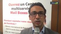 Interview de Lionel Dindjian, de la franchise Mail Boxes Etc.