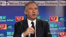 """F. Bayrou - Chrétiens d'Orient : """"Que la France retrouve sa vocation protectrice"""""""