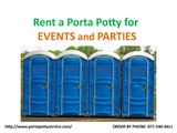 Rent an Affordable Porta Potty From Porta Potty Service