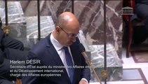 H. Désir répond à une QAG de Philippe Doucet sur le soutien aux combattants kurdes