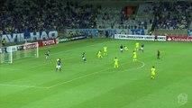 Copa Libertadores: jugador de Cruzeiro marcó espectacular gol de chalaca (VIDEO)