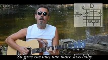 Key to the Highway with lyrics/chords - Acoustic Blues Guitar Cover - Free Guitar Lessons