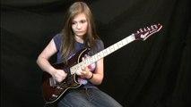 Van Halen - Elle joue de la guitare comme un génie