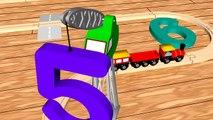 Numbers in Spanish: Tren de Números - Los Números del 0 al 10 para niños