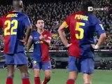 Raúl anima a Casillas antes del penalti