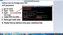 How to Change WIFI Password on STC Modem [ HomeBroadband