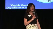 Virginia Grant's Three Minute Thesis presentation