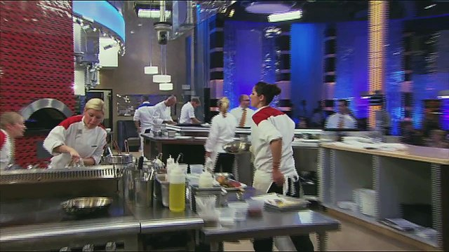 HELL'S KITCHEN   Basic New York Strip from  15 Chefs Compete    FOX BROADCASTING