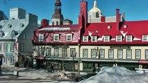 Impressions de la ville de Québec (hiver)
