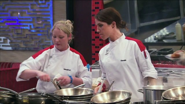 HELL'S KITCHEN   The Red Teams' Appetizers from  14 Chefs Compete    FOX BROADCASTING