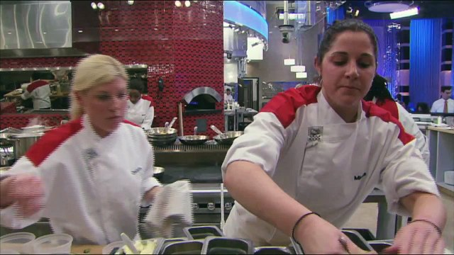 HELL'S KITCHEN   Under Cooked Pork from  16 Chefs Compete    FOX BROADCASTING