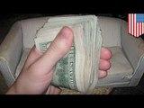 Студенты из Нью-Йорка нашли в диване $40 000 и вернули их хозяйке