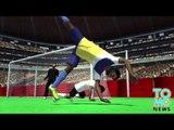 Goal de la mort: En celebrant un but, il fait une roue et un flip puis retombe sur la tête