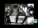 VIDEO: Un téléphone portable explose dans un bus en Chine
