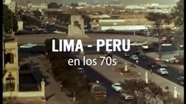 Lima 1960 -1970. Perú