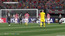 Estudiantes de La Plata vs Atletico Nacional Medellin - Highlights - PES 15 - Round of April 9