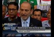 Izquierda peruana presentó nuevo frente político con los rostros de siempre