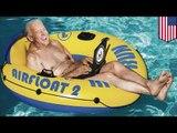 Joe Biden aime se baigner nu dans sa piscine à Washington et dans le Deleware