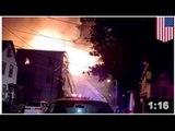 INCENDIE: quatre adultes et trois enfants ont péri dans l'incendie d'un immeuble
