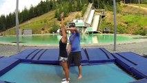How to backflip on skis - skiing back flip - Ski Addiction