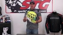 Icon Airmada Stack Hi-Viz Yellow Helmet Review from SportbikeTrackGear.com