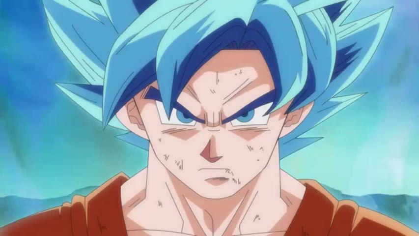Goku Super Saiyan God Super Saiyajin (blue hairs)