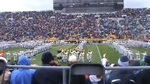 Notre Dame Fight Song by Notre Dame Marching Band Inside Notre Dame Stadium