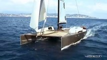 SIG45 High Performance Catamaran Sailing Fast