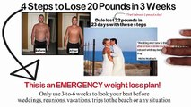 EMERGENCY Diet_ Lose 20 Pounds in 3 weeks or... 22 lbs. in 23 days like he did