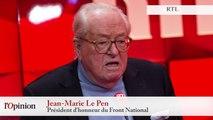 """TextO' : Jean-Marie Le Pen : """"Mme Le Pen est en train de dynamiter sa propre formation"""""""