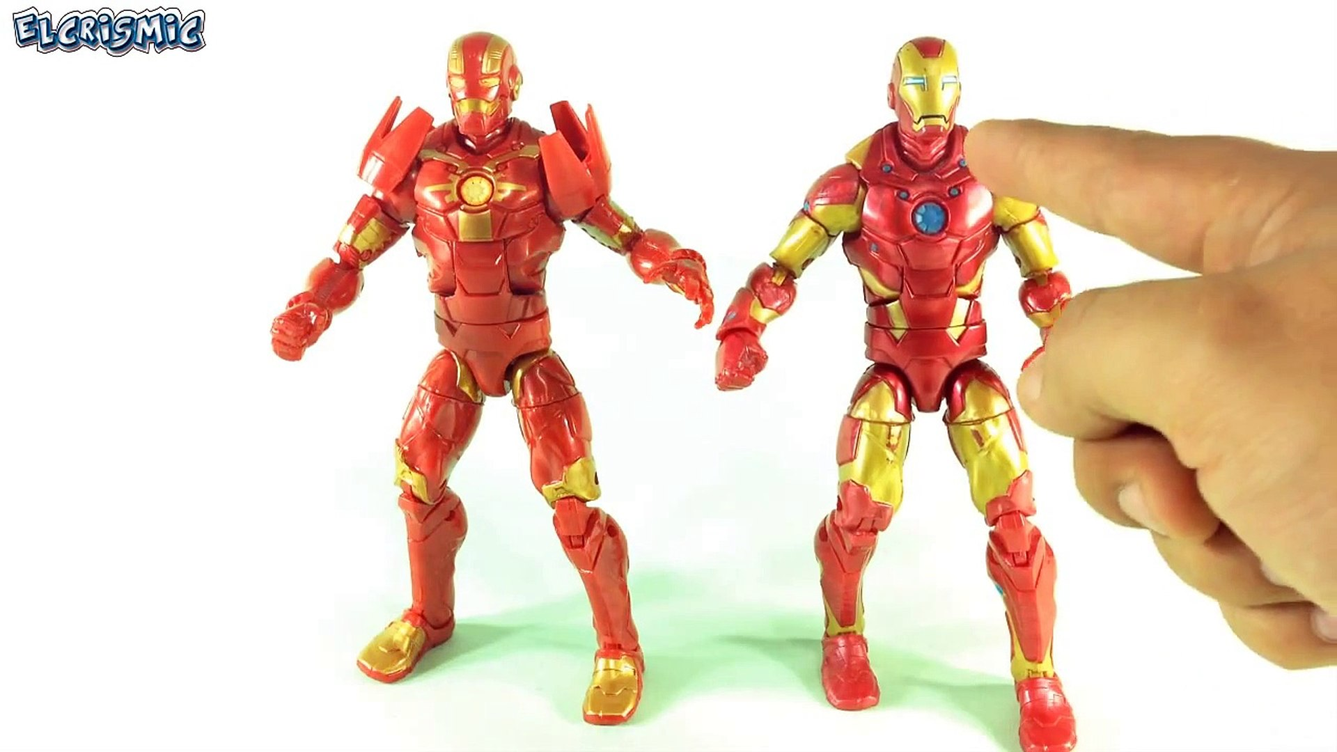 Iron Man Cosmic Marvel Legends Baf Groot Guardianes De La Galaxia ElCrisMic