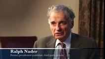 Ralph Nader: Obama Bigger War Criminal Than Bush