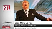 """Jean-Marie Le Pen: """"Marine Le Pen est en train de dynamiter sa propre formation"""""""