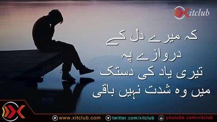 Zara Si Be Sakooni Hai - Urdu Video Poetry