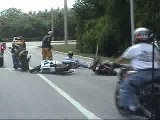 Video - Moto - Accident - Avec 2 Motos