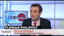 """Jean-Marie Le Pen cible Florian Philippot, """"une pièce rapportée au FN"""""""