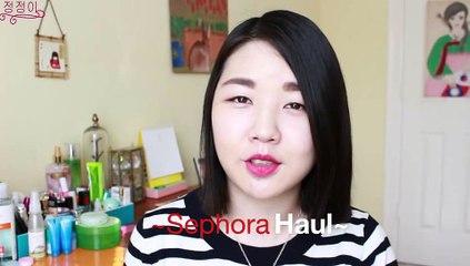 Sephora Haul | 세포라 하울