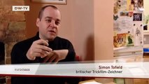 Simons Cat - die Kreation des britischen Zeichners Simon Tofield | euromaxx