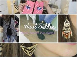 ✿ Haul Soldes ✿ Moa, Etam, Zara, Amazon, Shoppeuz, Aliexpress, New Look...