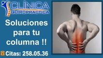 Alivio del dolor de espalda y lumbalgia. Centro de la Columna Vertebral.