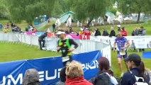Arrivée des championnats du monde de triathlon longue distance