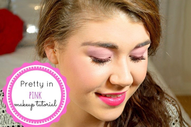 Pretty Pink Makeup Tutorial | Sophie Malone