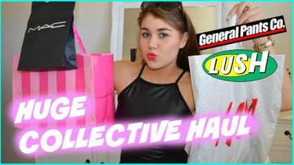 Huge Collective Haul | MAC, Lush, Victorias Secret!