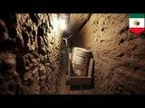 麻薬密輸トンネル発見 メキシコ・アメリカ国境で