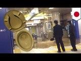 東京メトロ・茅場町駅が大変な事態に 一時水没